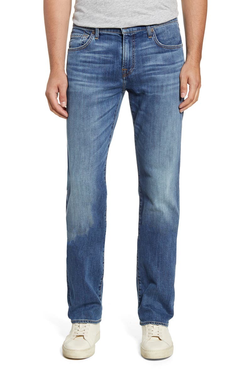 7 FOR ALL MANKIND<SUP>®</SUP> Standard Straight Leg Jeans, Main, color, SWAIN