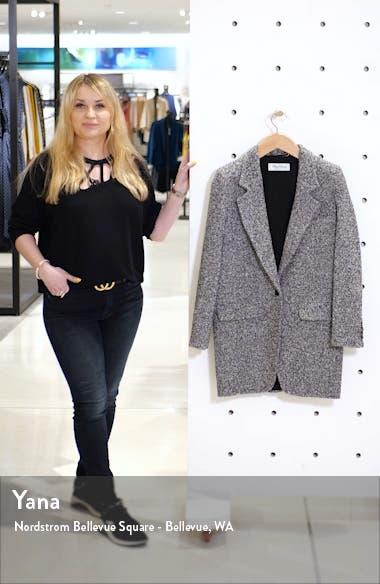 Matassa Wool Blend Tweed Coat, sales video thumbnail