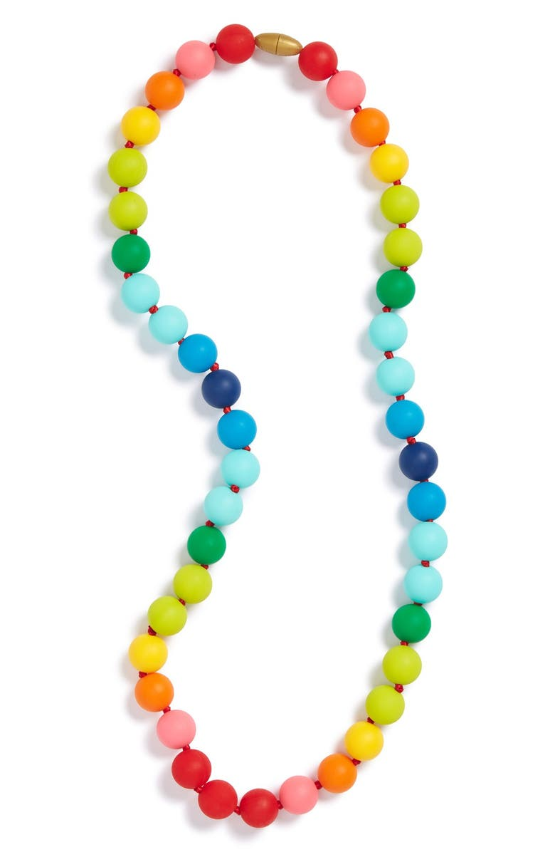 CHEWBEADS Christopher Teether Necklace, Main, color, ASSORTED