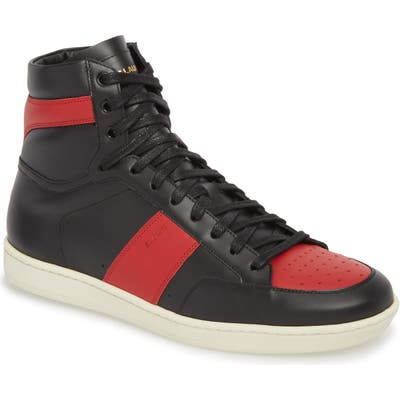 Saint Laurent Sl/10H Signature Court Classic High Top Sneaker
