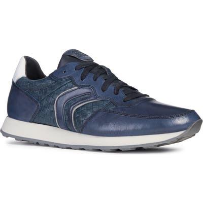 Geox Vincit 4 Sneaker, Blue