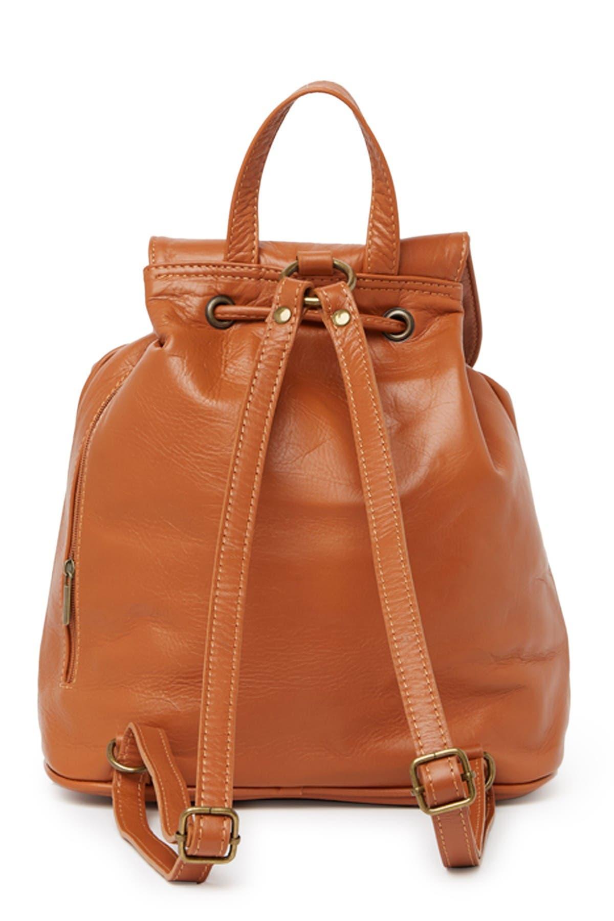 Image of Sofia Cardoni Leather Backpack