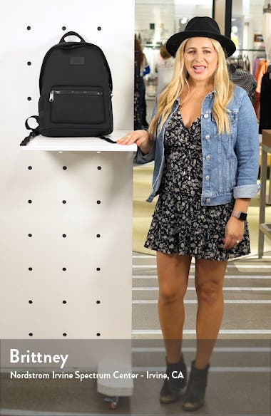 Medium Dakota Neoprene Backpack, sales video thumbnail