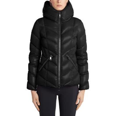 Moncler Fulig Quilted Down Puffer Jacket, (fits like 4-6 US) - Black