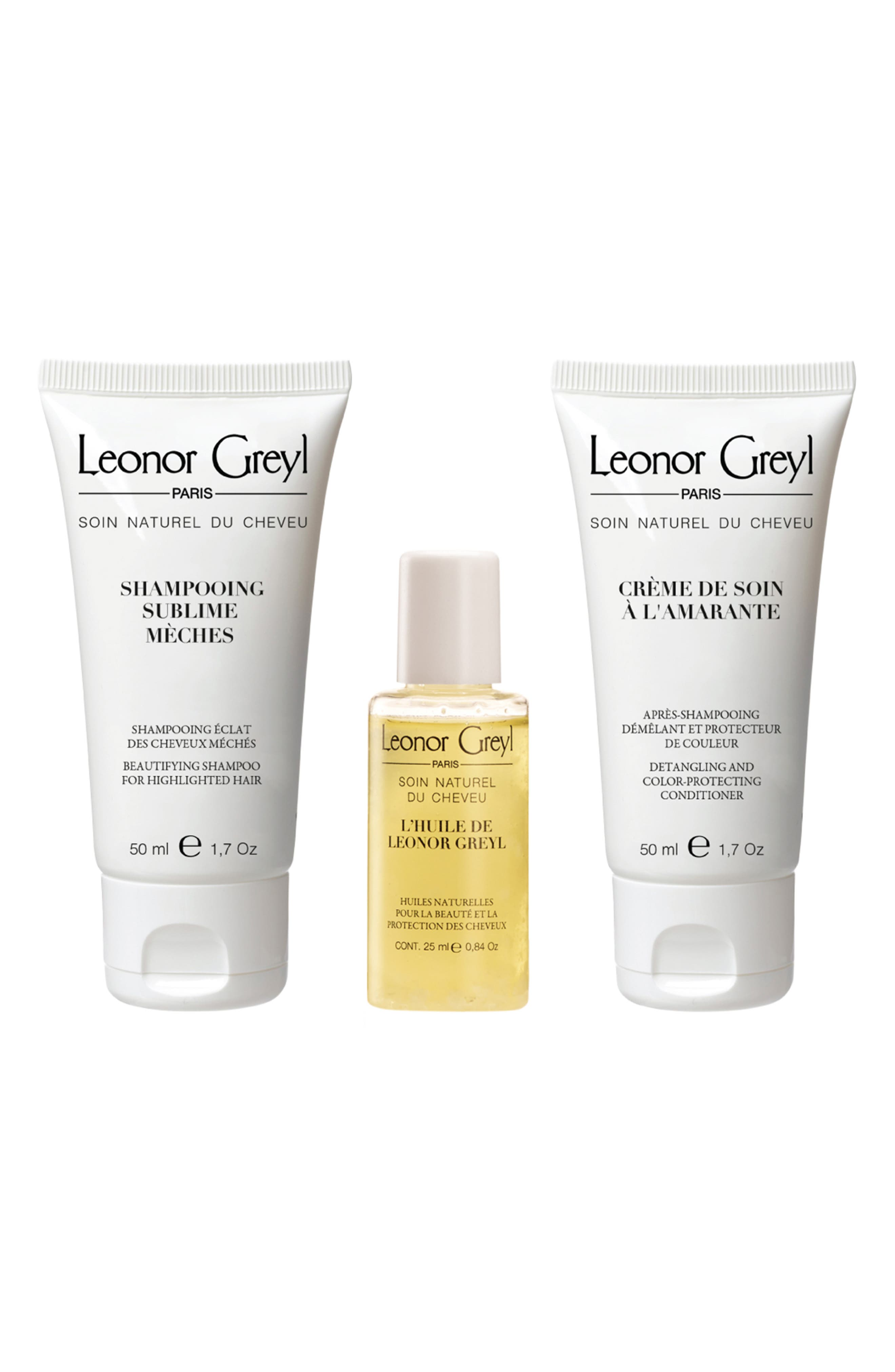 Luxury Travel Kit For Color Treated Hair