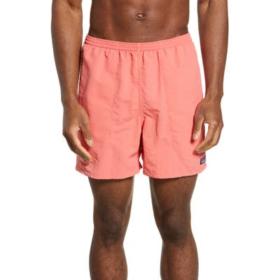 Patagonia Baggies 5-Inch Swim Trunks, Coral