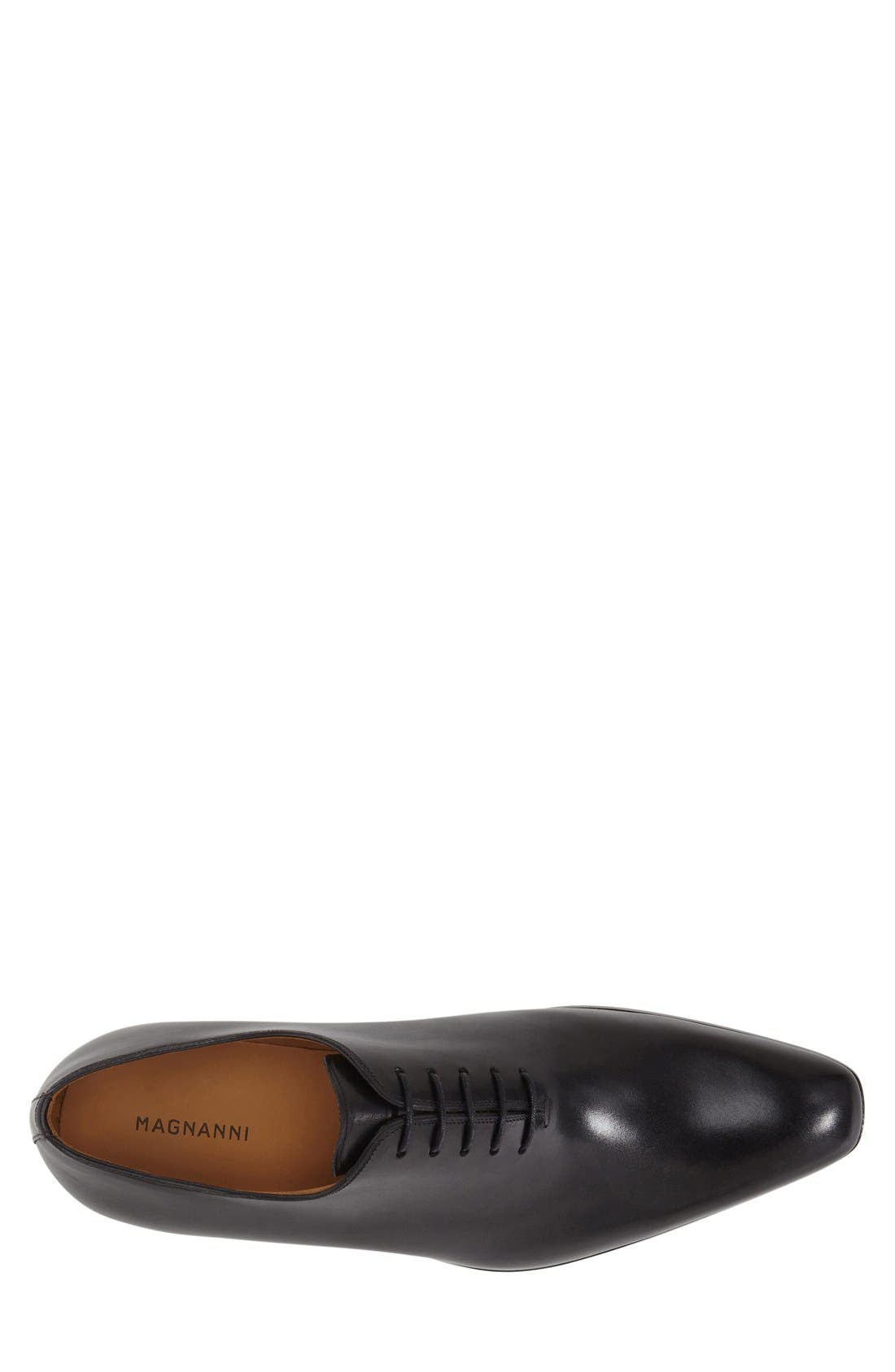 ,                             'Cruz' Plain Toe Oxford,                             Alternate thumbnail 3, color,                             BLACK