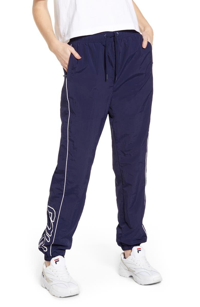 FILA Maia Logo Wind Pants, Main, color, 410