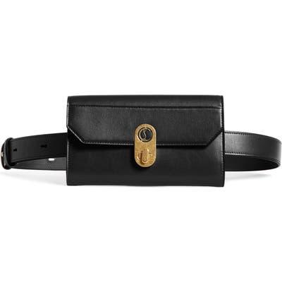 Christian Louboutin Elisa Paris Leather Belt Bag - Black