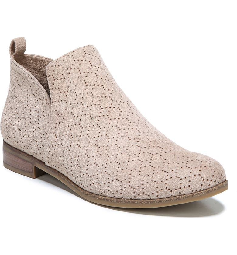 DR. SCHOLL'S Rate Bootie, Main, color, PUTTY FABRIC