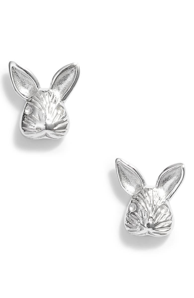 OLIVIA BURTON 3D Bunny Stud Earrings, Main, color, 040