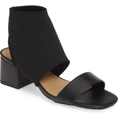 Nic+Zoe Zaila Sock Shield Sandal, Black