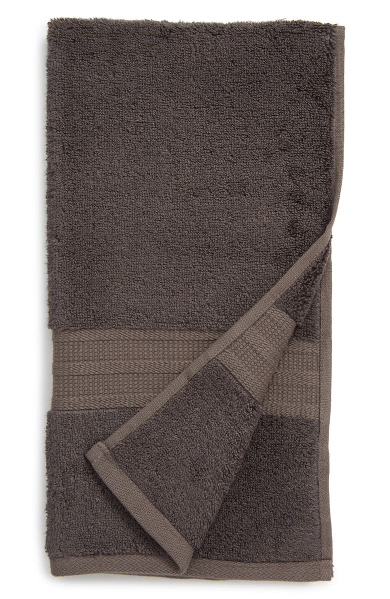 NORDSTROM Cotton & Modal Hand Towel, Main, color, GREY MAGNET