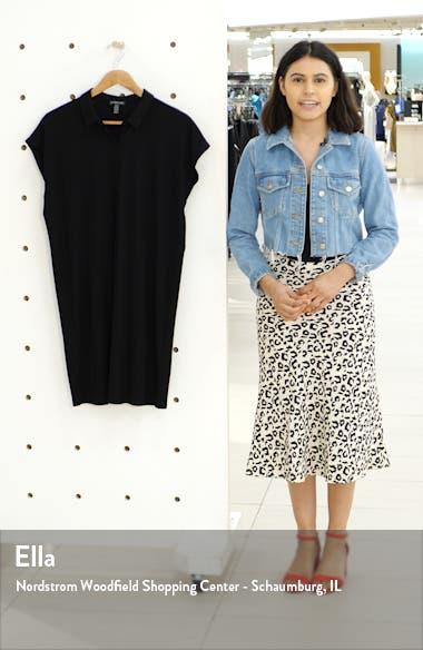 Tencel<sup>®</sup> Lyocell Blend Shirtdress, sales video thumbnail