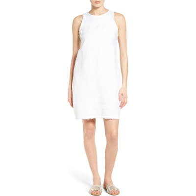 Tommy Bahama Two Palms Frayed Trim Shift Dress