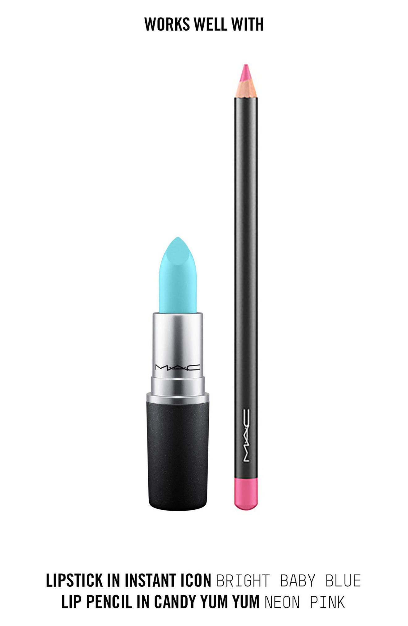 ,                             MAC Strip Down Nude Lipstick,                             Alternate thumbnail 408, color,                             406