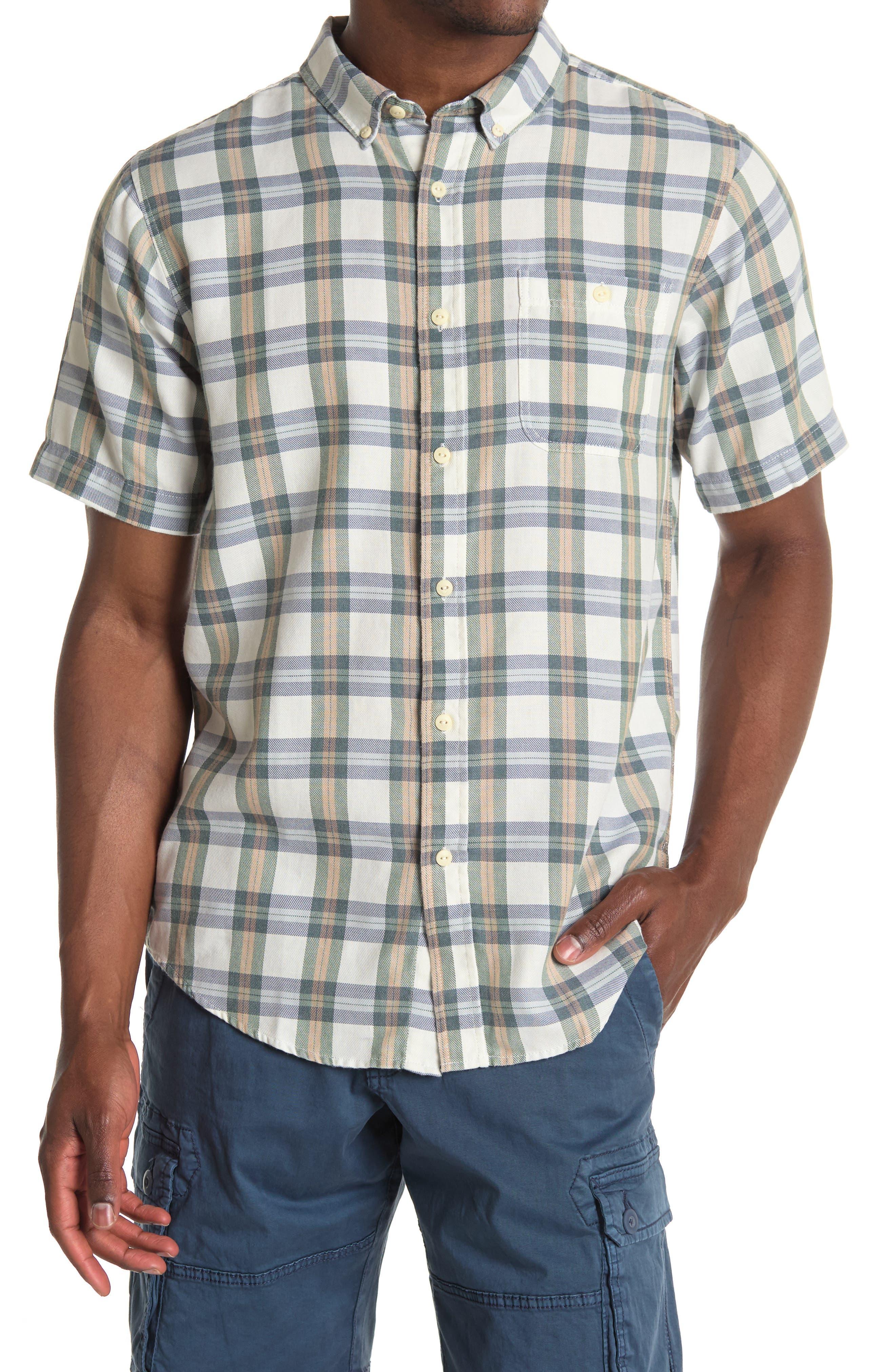 Image of Ezekiel Plaid Short Sleeve Shirt
