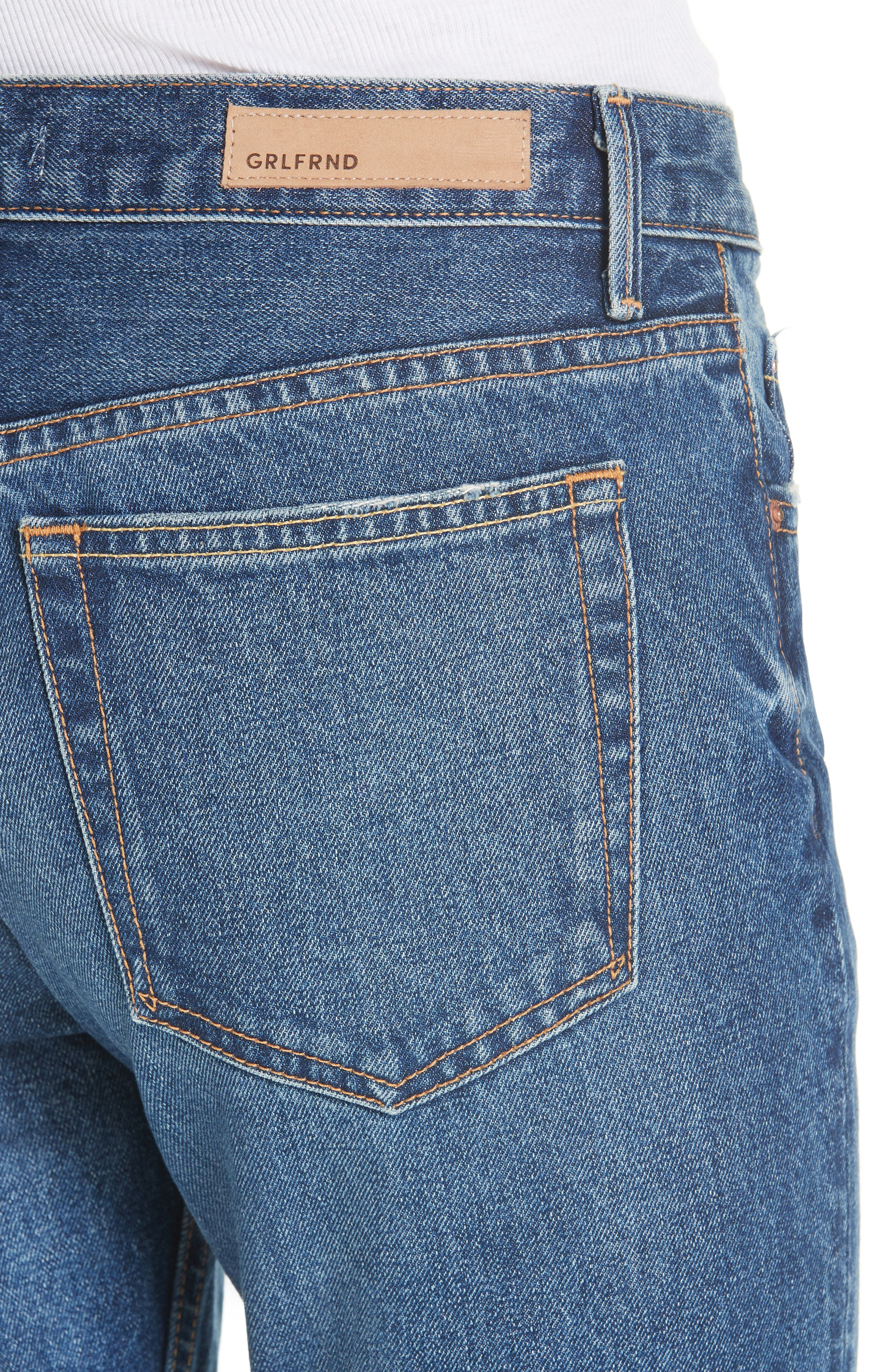 ,                             Tatum Crop Flare Jeans,                             Alternate thumbnail 5, color,                             430