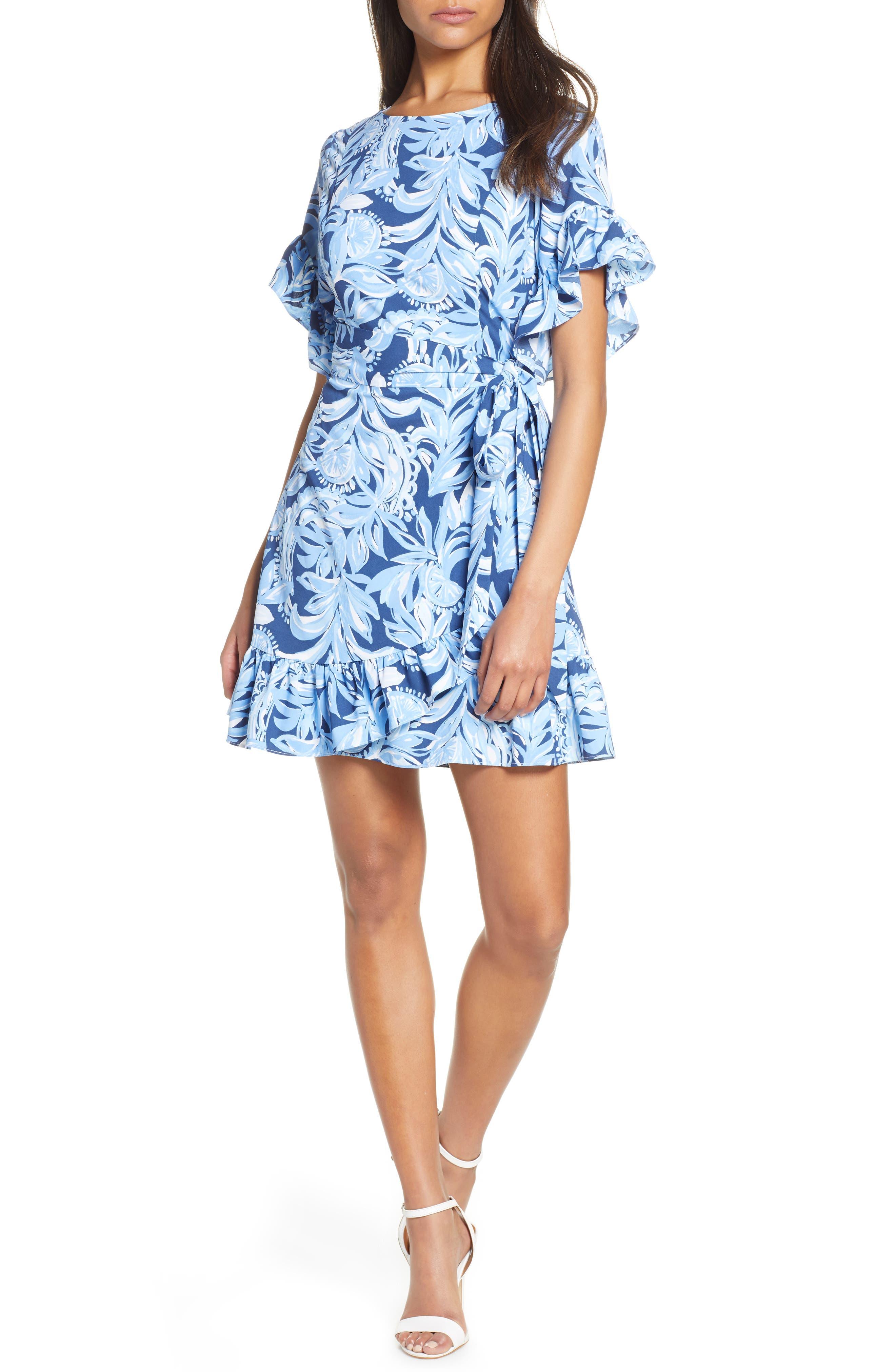 Lilly Pulitzer Darlah Stretch Dress, Blue