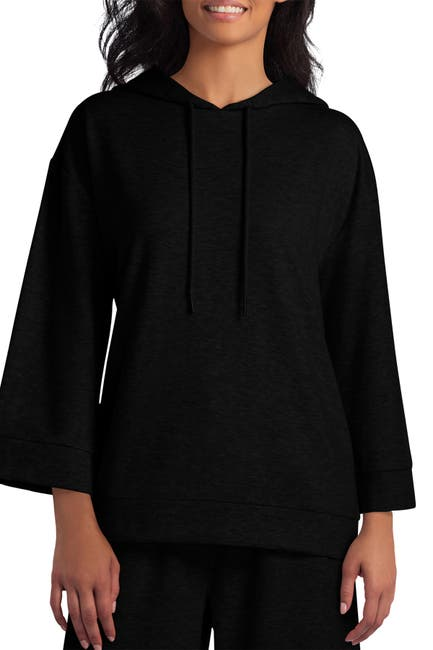 Image of HALSTON Solid Knit Hoodie