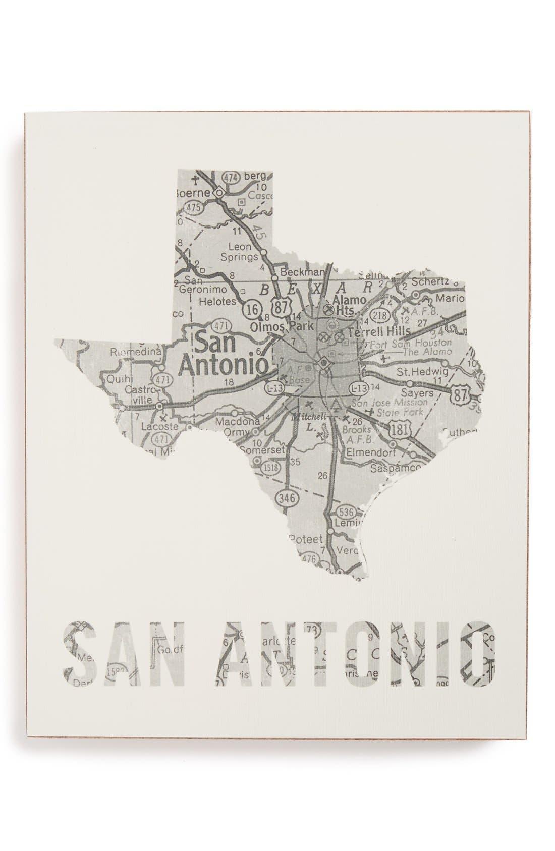 ,                             City Map Wall Art,                             Main thumbnail 34, color,                             051