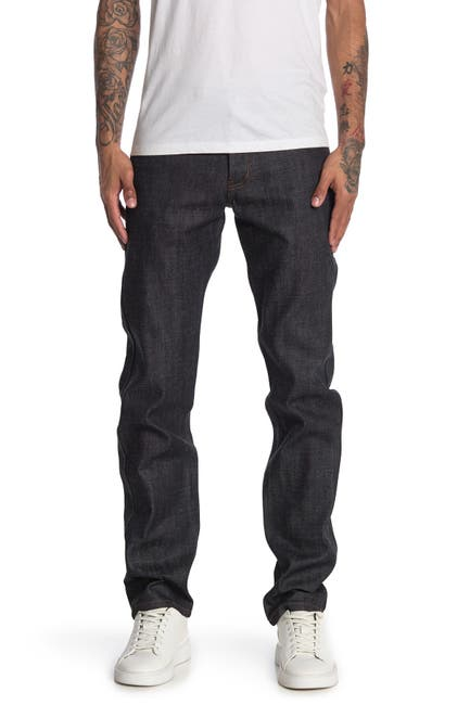 Image of Naked and Famous Weird Guy Classic Slub Jeans
