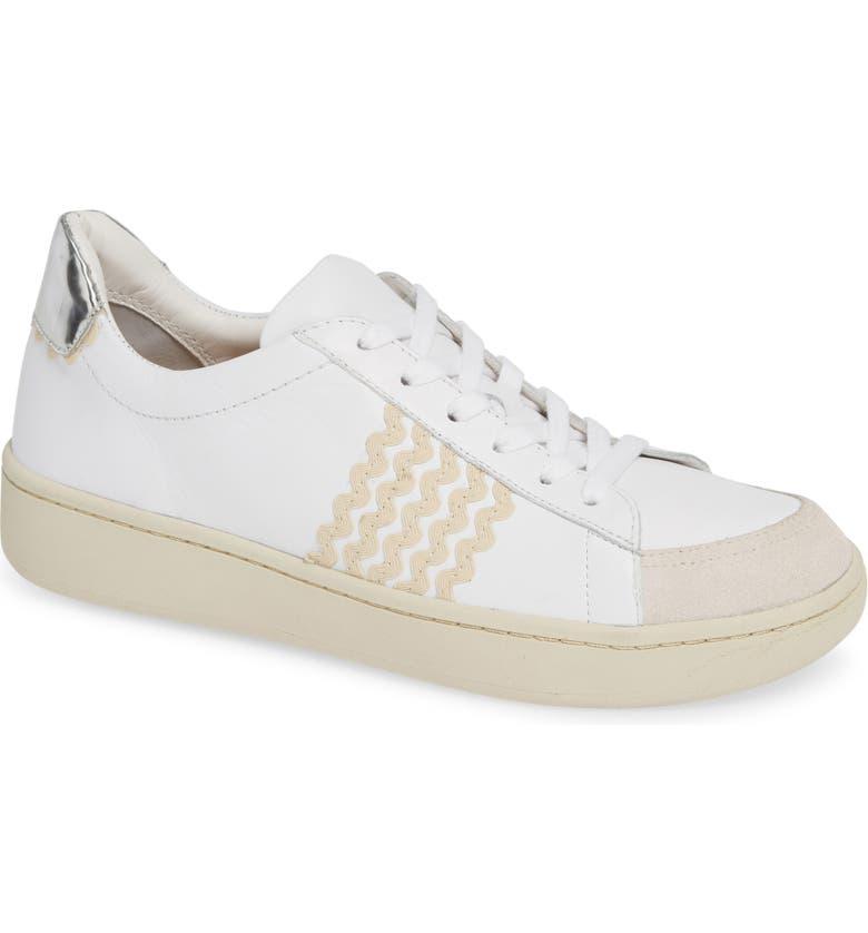 LOEFFLER RANDALL Elliot Rickrack Sneaker, Main, color, 103