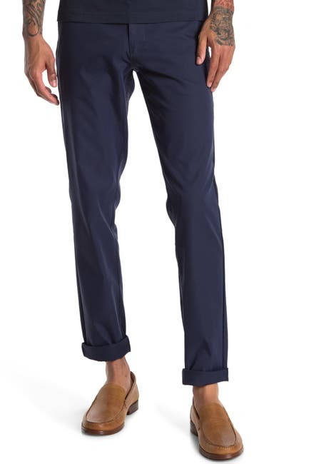 Image of RHONE Tech Slim Fit Twill Pants