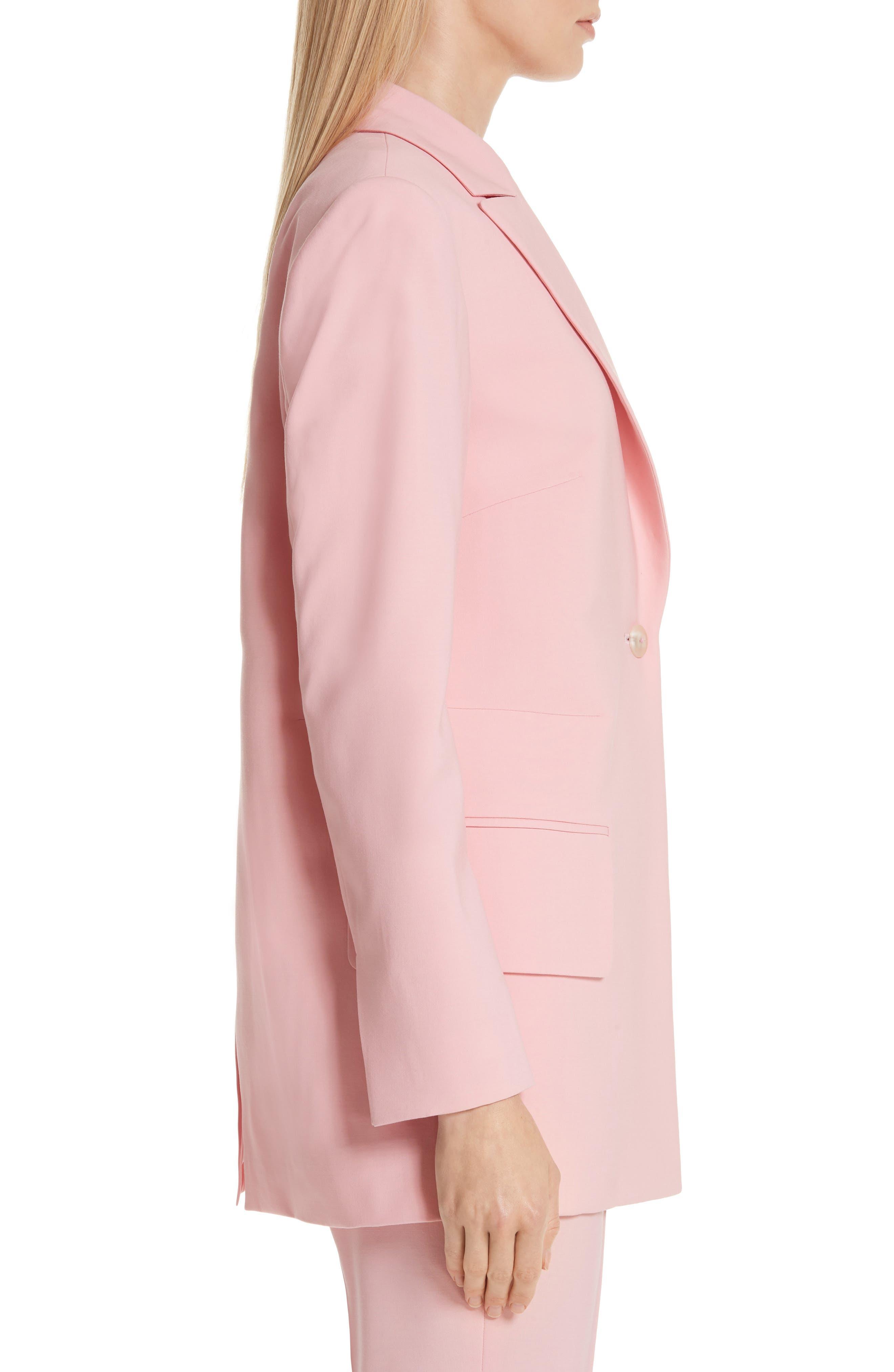 ,                             Brody Stretch Wool Jacket,                             Alternate thumbnail 3, color,                             ROSE