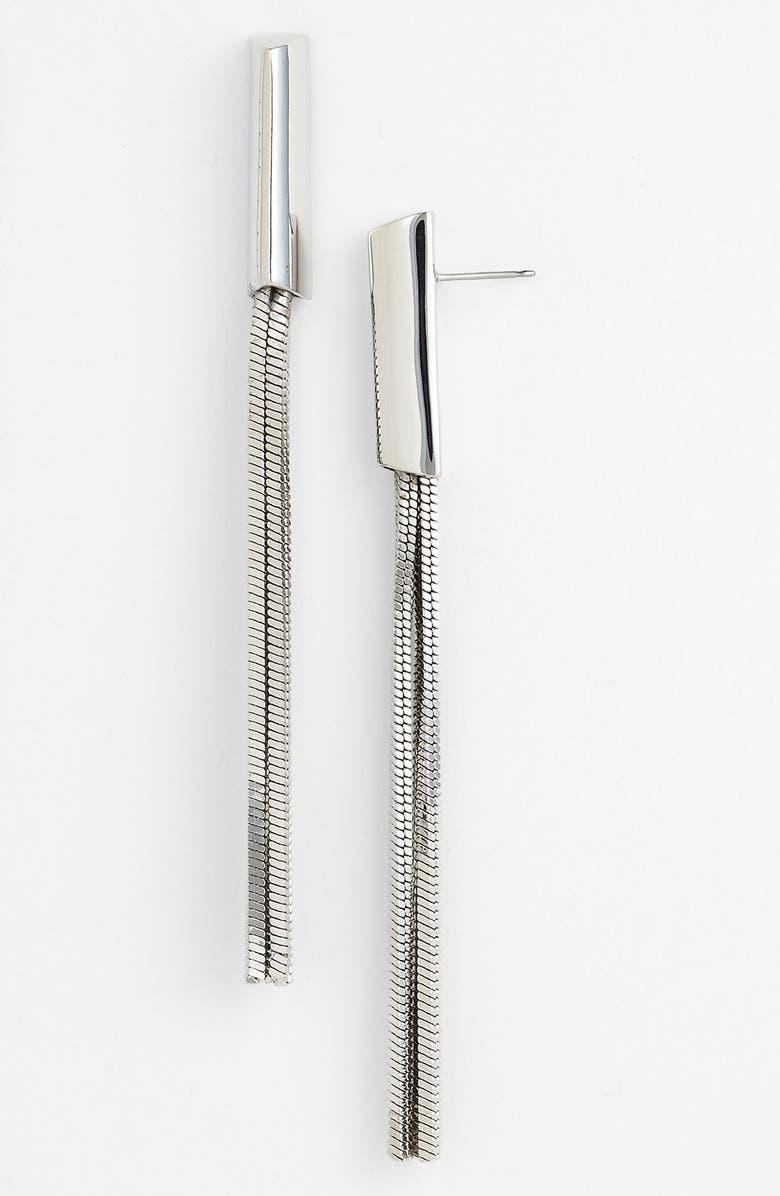 VINCE CAMUTO 'Clean Slate' Tassel Earrings, Main, color, 040