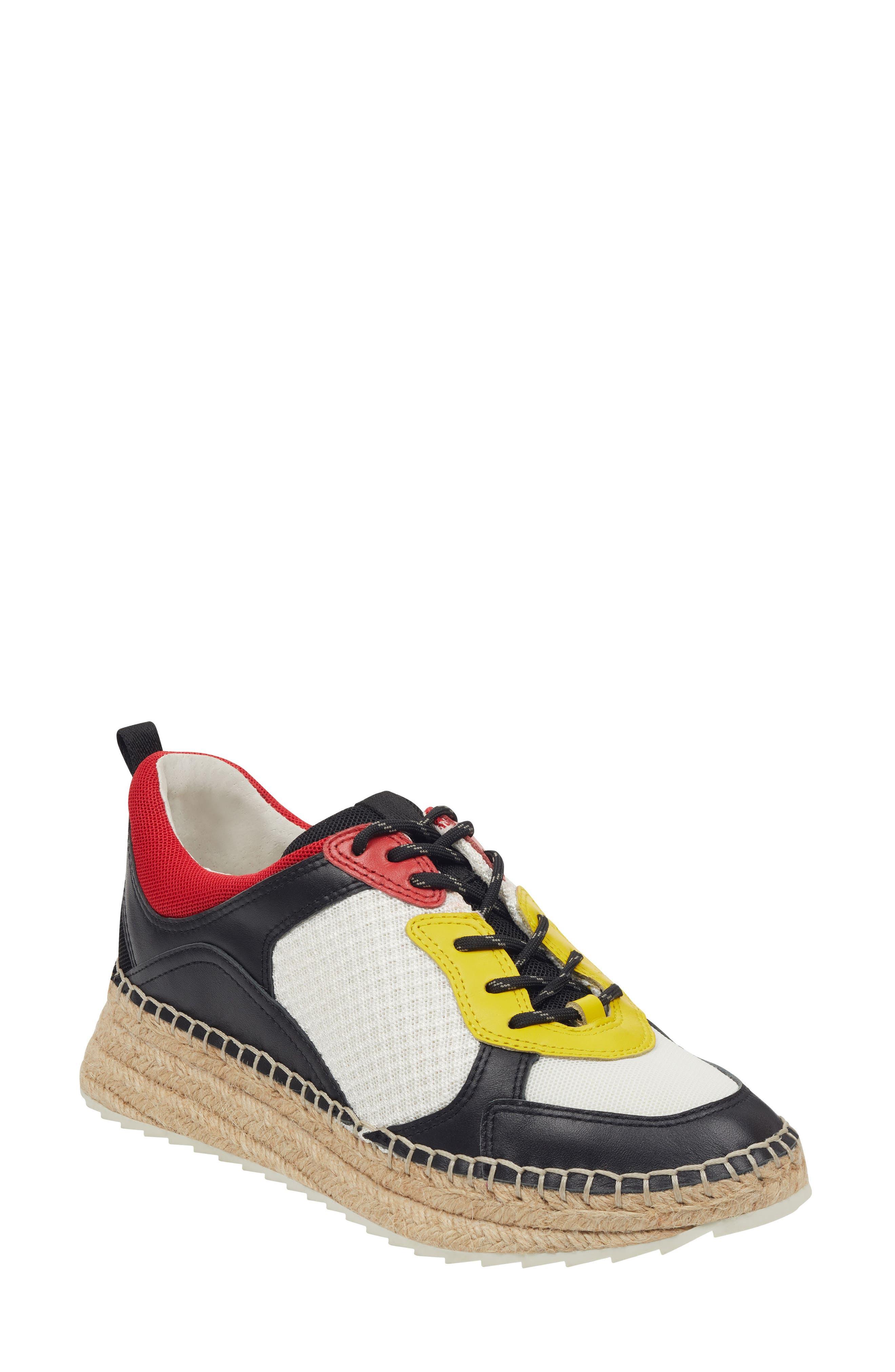 Janette Espadrille Sneaker, Main, color, 001