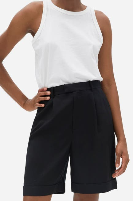 Image of EVERLANE The Put-Together Pleat Short