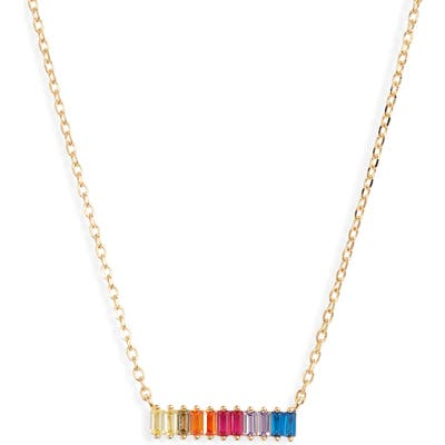 Karen London Colorblock Pendant Necklace