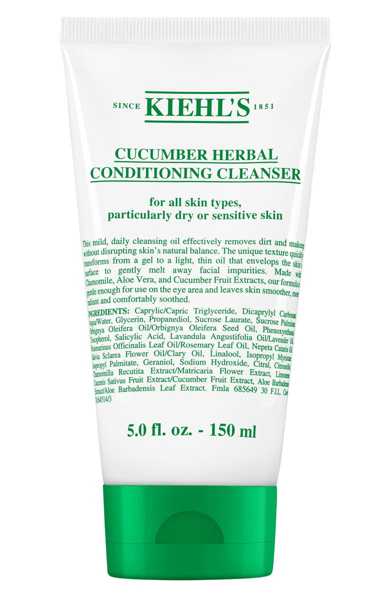 KIEHL'S SINCE 1851 Cucumber Herbal Cleanser, Main, color, 000