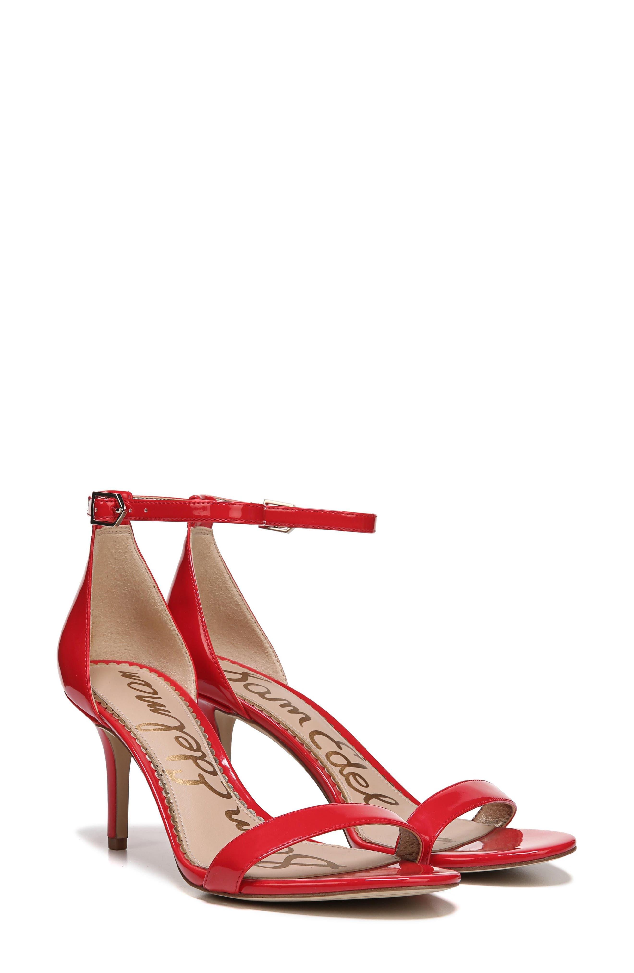 ,                             'Patti' Ankle Strap Sandal,                             Alternate thumbnail 120, color,                             606