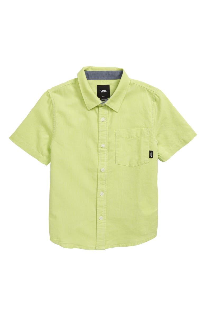 Vans Houser Woven Shirt Toddler Boys Little Boys