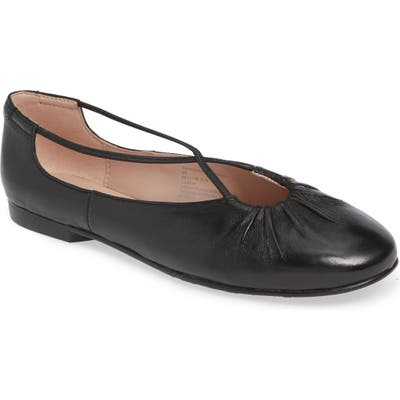 Taryn Rose Collection Alessandra Ballet Flat, Black