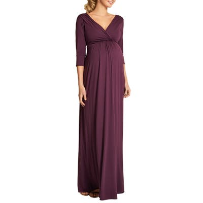 Tiffany Rose Willow Maternity Gown, Red