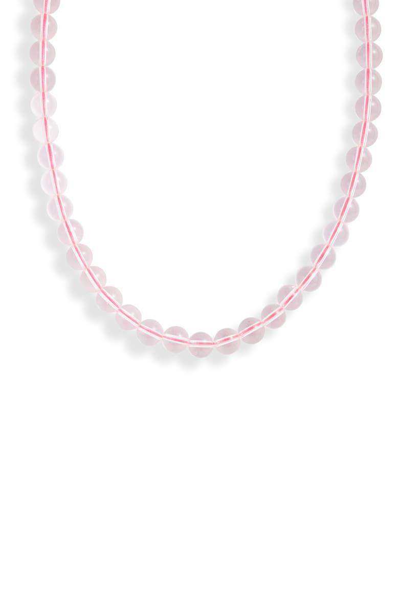 LOREN STEWART Amnesia Choker Necklace, Main, color, SILVER