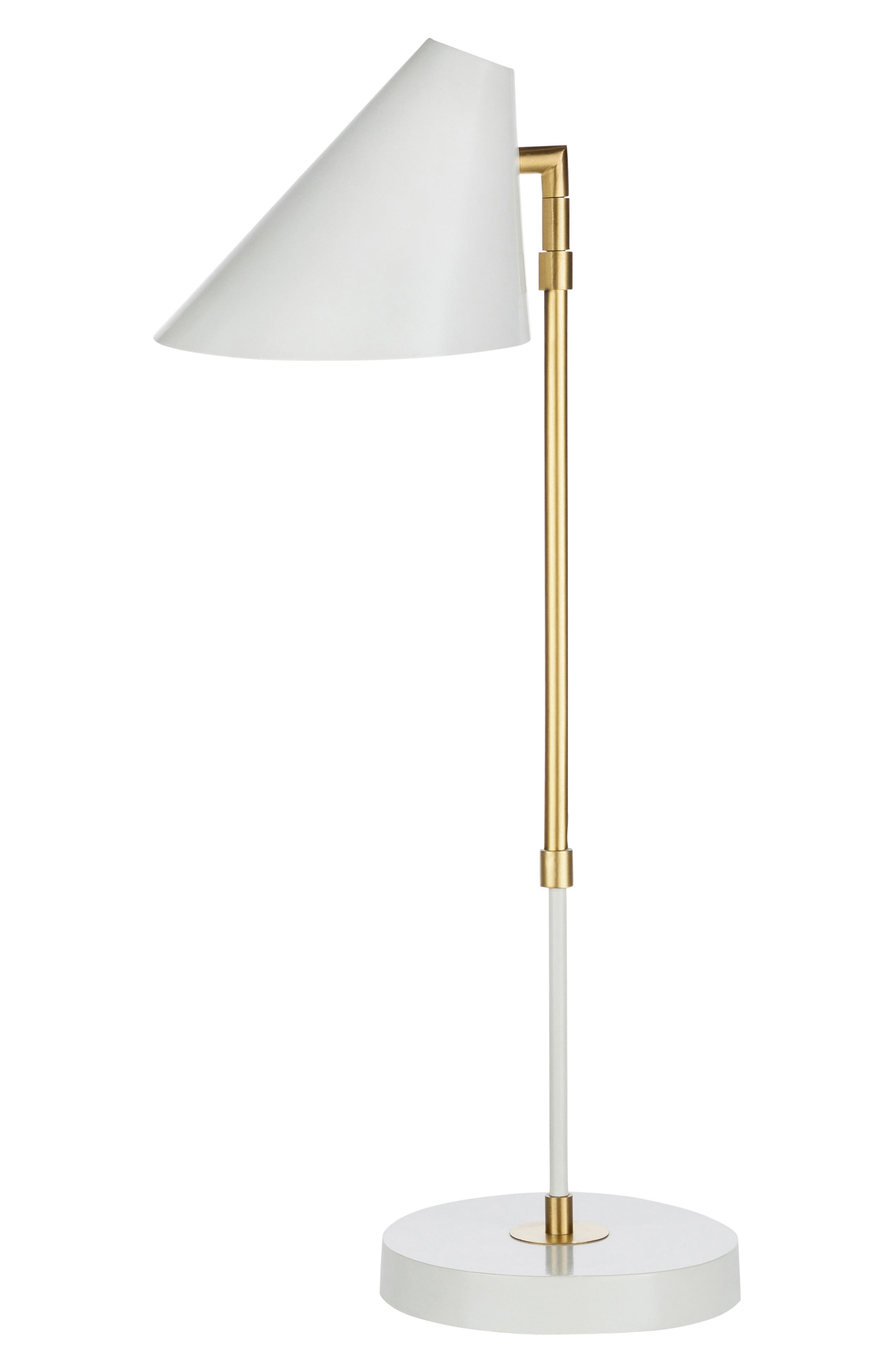 Surya Home Bauer Table Lamp Size One Size  White