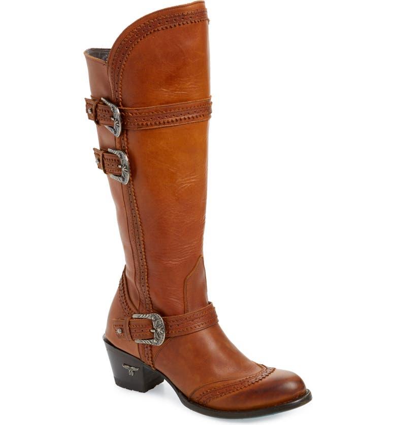 LANE BOOTS Sakes Alive Boot (Women0, Main, color, CINNAMON LEATHER