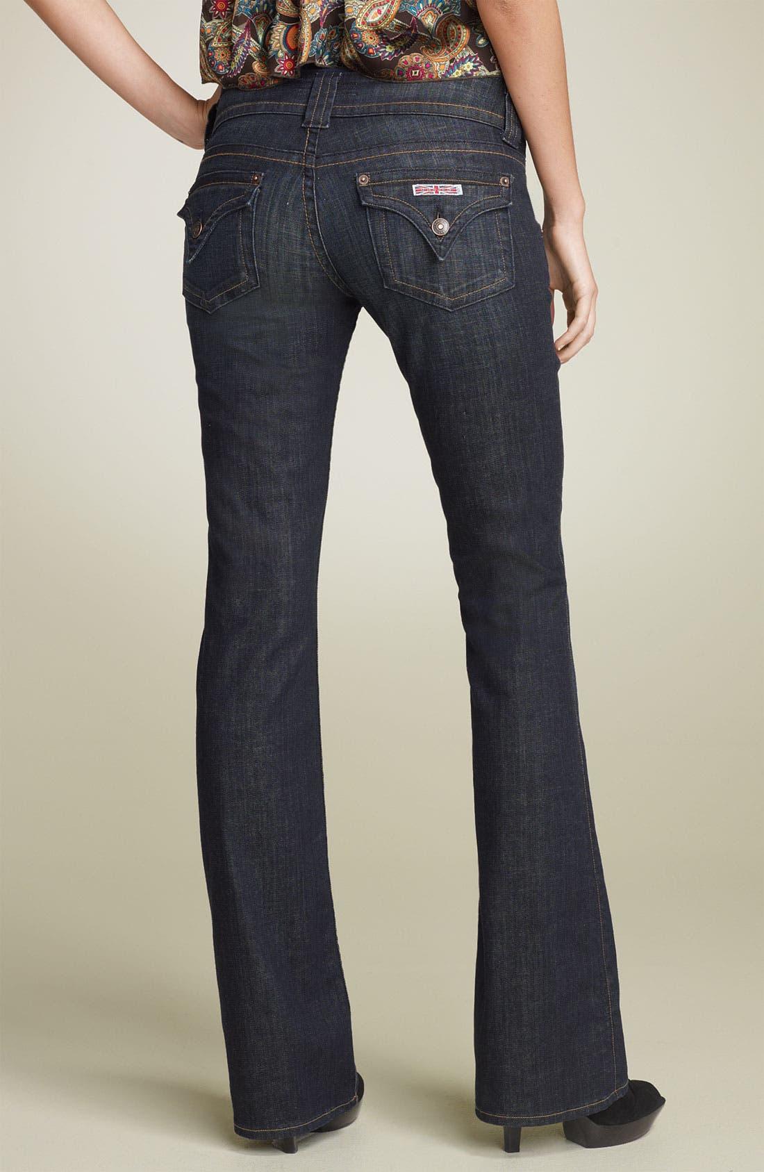 ,                             Signature Flap Pocket Bootcut Jeans,                             Alternate thumbnail 29, color,                             403