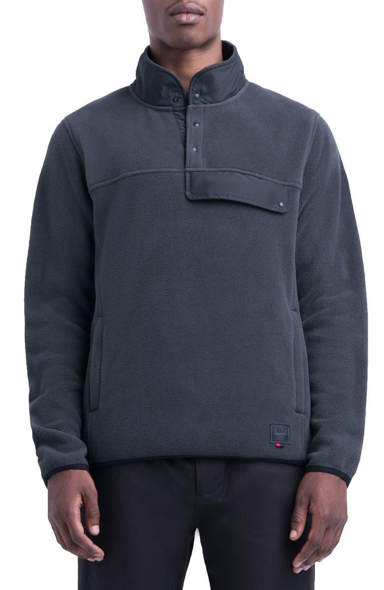 HERSCHEL SUPPLY CO. Fleece Pullover, Main, color, 003
