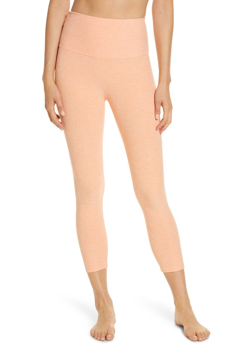 BEYOND YOGA High Waist Capris, Main, color, 955