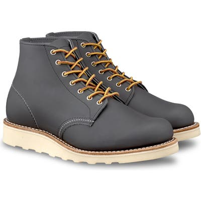 Red Wing 6-Inch Round Toe Boot- Grey