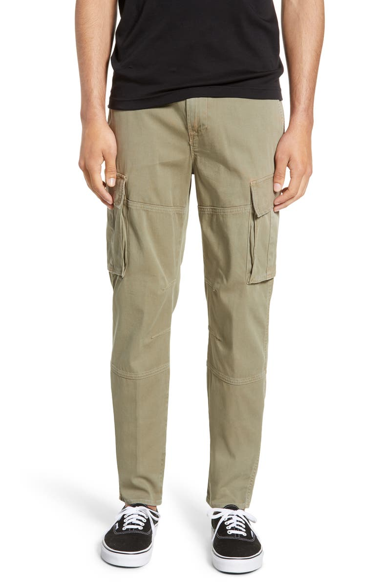 HUDSON JEANS Skinny Fit Cargo Pants, Main, color, DUSTY OLIVE
