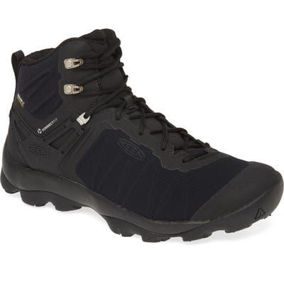 Keen Venture Waterproof Hiking Shoe, Black
