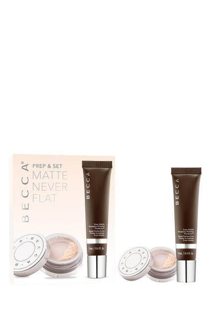 Image of BECCA Cosmetics Prep & Set Matte Never Flat Kit