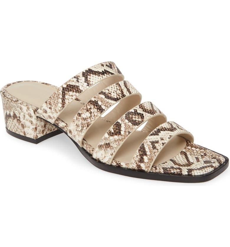 FREDA SALVADOR Ingrid Square Toe Strappy Slide Sandal, Main, color, 250