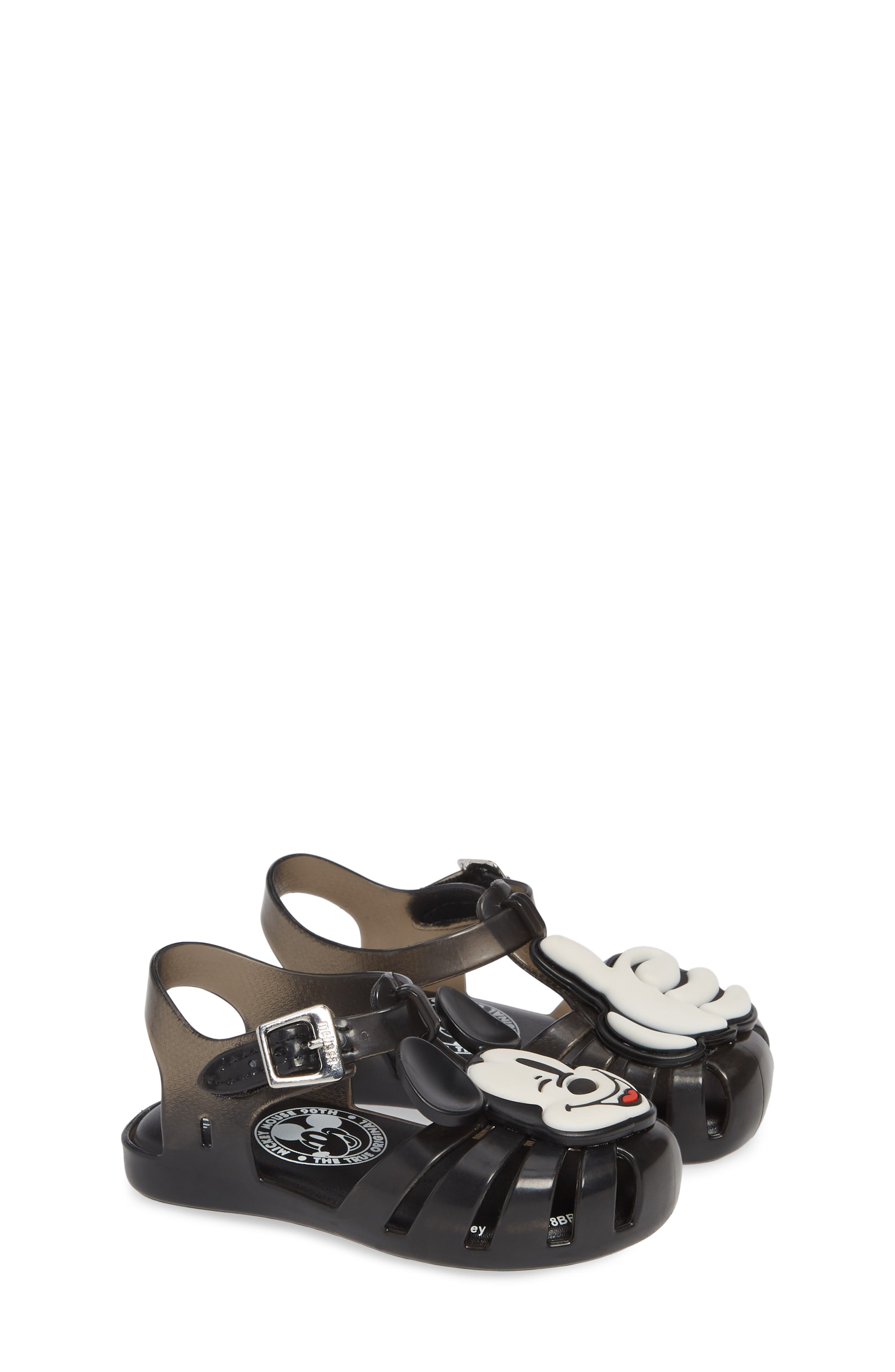 ,                             Aranha + Mickey Fisherman Sandal,                             Alternate thumbnail 2, color,                             BLACK